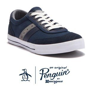 Original Penguin Mens Blue Gray Sneakers Sz 11 NIB